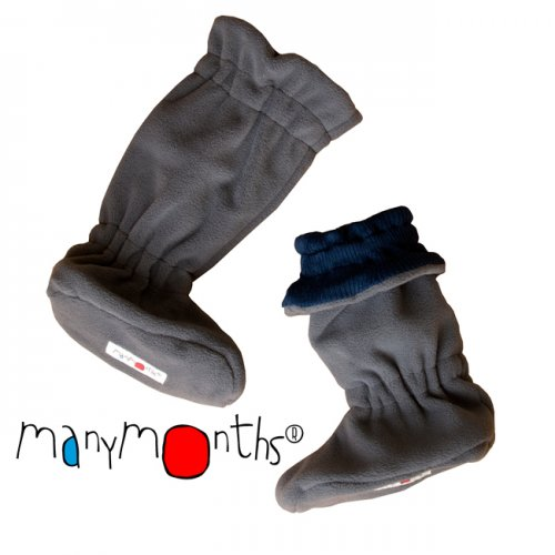 Winter Booties lana merino ManyMonths